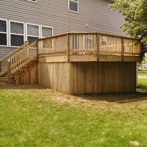 What The Deck Looked Like When It Was Done