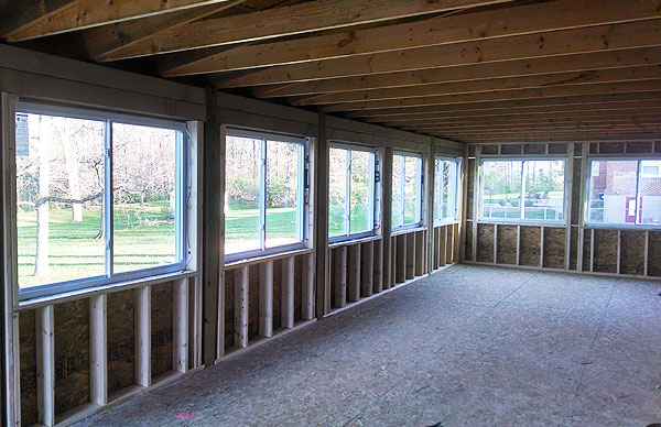 Room additions and house add ons with nb weitz contracting for Building a room addition